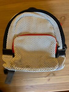 FOSSIL Back Pack Off White with Black and Red Trim