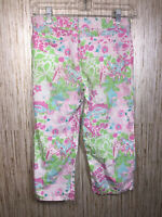 LILLY PULITZER Crop Pants SIZE 12 Youth GIRL Giraffes And Other Designs