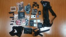 GOPRO HDHERO 2 WITH EXTRA BATTERIES +LOT OF ACCESSORIES
