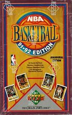 1991-92 Upper Deck Series 1 Basketball wax box 36 Packs 1st UD-JORDAN Card's
