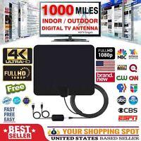 1000 Miles Range Antenna TV Digital HD FreeTV 4K Antena Digital Indoor HDTV Free