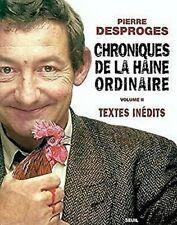 Chroniques de la Haine Oridinaire, T. 02 por Desproges, Pierre