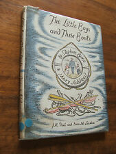 The Little Boys and their boats by Stephen Bone and Mary Adshead HC DJ
