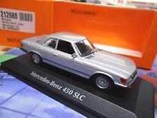 MERCEDES BENZ 450 SLC R107 107 V8 Coupe silber silver Maxichamps Minichamps 1:43