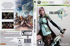 Final Fantasy XIII (Microsoft Xbox 360, 2010)