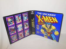 Custom Made Jim Lee's The Uncanny X-Men Trading Card Album Binder Graphics Only