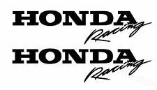 2x HONDA Racing  Aufkleber Window Bumper Laptop Sticker Vinil Decal 074