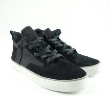 TOMS Shoes Women's Size 5.5 Camila High Sneaker Black Textured Woven Brand NEW