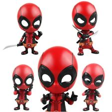 Deadpool Car Bobble-Head Shake Head Doll PVC Action Figure Model Toy Gift 3.9''