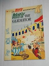 Vintage Darguad ASTERIX THE GLADIATOR Goscinny Uderzo TPB Trade Paperback