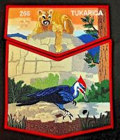 TUKARICA OA LODGE 266 ORE-IDA COUNCIL ID FLAP 2017 50TH 2-PATCH ORDEAL 70 MADE
