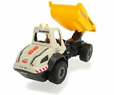 Dickie Toys Light and Sound Construction Dump Truck