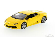 Lamborghini Huracan  Yellow Showcasts 34509 1/24 Scale Diecast Model Toy Car