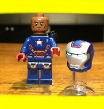 LEGO MARVEL SUPER HERO IRON MAN PATRIOT GENUINE MINIFIGURE ONLY @ SET 30168 RARE