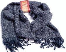 MUDD Oversized Wrap Scarf blue grey heather NWT