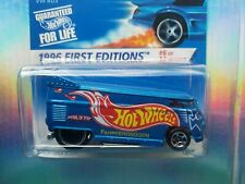 1996~VW DRAG BUS~1ST FIRST EDITIONS~6/12~HOT WHEELS~ORIGINAL~CHASE~COLLECTIBLE