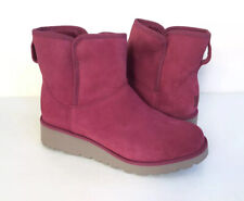 UGG KRISTIN LONELY HEARTS CLASSIC SLIM SUEDE WEDGE BOOT US 9 / EU 40 / UK 7.5