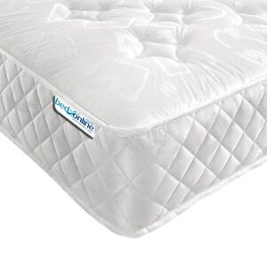 BRAND NEW 3FT SINGLE LUXURY 7'' ORTHOPAEDIC COOL TOUCH MATTRESS IN DAMASK FABRIC