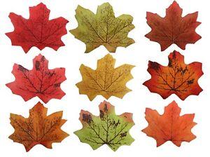 Best Artificial Large Loose Autumn Maple Silk Leaves Foliage Wedding Decoration