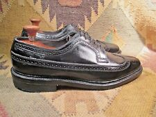 Mason Imperials Black Leather Wingtip Oxfords Size 11 D Made in Usa