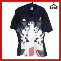 Adidas Team GB Football Shirt XL Soccer Jersey Olympics Great Britain Rio 2016
