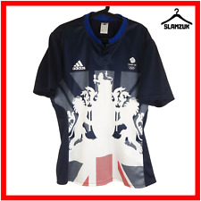 Adidas Team GB Football Shirt XL Soccer Jersey Olympics Great Britain Rio 2016