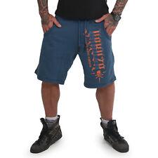 Neue Yakuza Herren Pointing Sweat Shorts - Mallard Blue