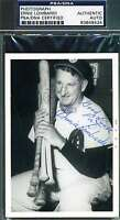 Ernie Lombardi Psa/dna Hand Signed Photo Authentic Autograph
