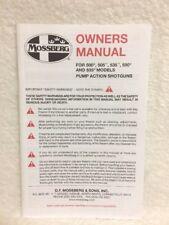 shotgun mossberg gun manuals for sale ebay rh ebay com Mossberg 5500 Mkii Model Mossberg 5500 Parts Diagram