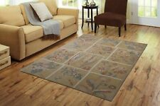 Indian Hand Tufted Wool Carpet Transitional Rug 5X8 Beautiful Handmade Area Rug