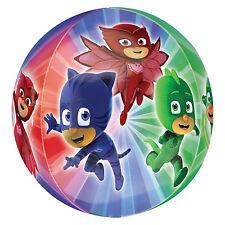 PJ Masques Orbz Ballon 38 cm x 40 cm (15 in (environ 38.10 cm) X 16 en) 4 different PHOTOS