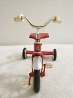 """Vintage Mini Red Radio Flyer Display Tricycle Toy Under 12"""" Tall"""