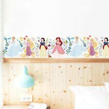 Disney Princesses Wall Stickers Nursery Kids Room Removable Mural Decal Decor UK
