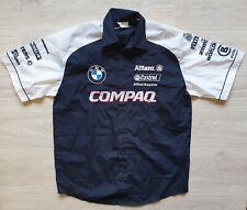 Rare WILLIAMS BMW COMPAQ Team Racing 2002 Shirt Sz M Bogner Veltins