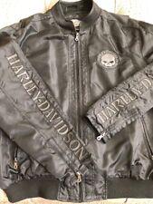 Harley-Davidson Mens Willie G Skull Bomber Jacket