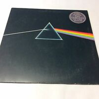 Pink Floyd 'Dark Side Of The Moon' Rare Green Triangle with Mis-spellings EX/VG+