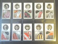 1927 Ogdens  STEEPLECHASE TRAINERS OWNER COLORS set 50 cards Tobacco Cigarette