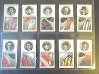 1927 Ogdens  STEEPLECHASE TRAINERS OWNER COLORS set 50 cards Tobacco Cigarette