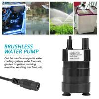 24V bürstenlos DC-Tauchpumpe Mini Pumpe Wasserpumpe Tauchmotorpumpe 1000L / H 7M