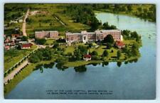 BATON ROUGE, Louisiana LA  Aerial View LADY OF THE LAKE HOSPITAL c1940s Postcard