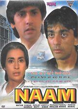 NAAM - SUNJAY DUTT - NEW ORIGINAL BOLLYWOOD DVD