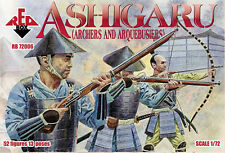 Red Box 1/72 Japanese Ashigaru Archers/Arquebusiers # 72006