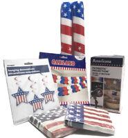 4th Of July Patriotic Projection Stars, Decorations, Light Up Sticks,Napkins