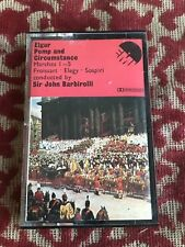 elgar pomp and circumstance : marches 1 - 5  .  cassette