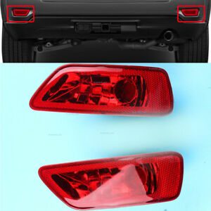 Reflector Light Rear R + L Fog Lamp Cover Fits JEEP Compass Grand Cherokee 11-17