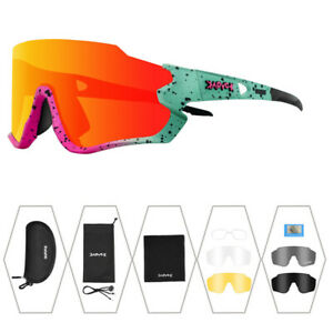 Half Frame Polarized Glasses Cycling Goggles Outdoor Sunglasses UV400 Women Men