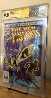 The New Mutants #1 SS CGC 9.8 SIGNED Chris Claremont.  New Movie! NM/MT 🔑