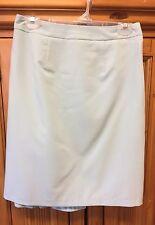 J.G. Hook Women's Skirt Flared Back Hem Blue Lined Sz 8