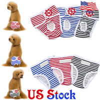 Pet Dog Diapers Female Sanitary Pants Washable Underwear Physiological Panties