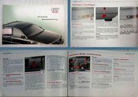Audi A8 Typ D2 4D Betriebsanleitung 7.2001 Bordbuch Bedienungsanleitung